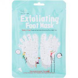 Cettua Clean & Simple exfoliační maska na popraskaná chodidla + ponožky 1 pár