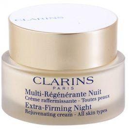 Clarins Extra-Firming noční zpevňující a protivráskový krém pro všechny typy pleti  50 ml