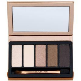 Clarins Eye Make-Up Palette 5 Couleurs paleta očních stínů 5 barev odstín 03 natural glow 7,5 g