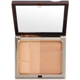 Clarins Face Make-Up Bronzing Duo minerální bronzující pudr odstín 01 Light  10 g