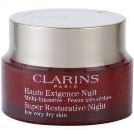 Clarins Super Restorative noční krém proti všem projevům stárnutí pro velmi suchou pleť  50 ml