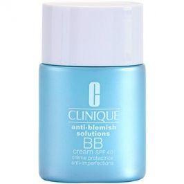 Clinique Anti-Blemish Solutions BB krém proti nedokonalostem pleti SPF 40 odstín Deep 30 ml