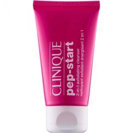 Clinique Pep-Start peelingový čisticí gel 2v1  30 ml