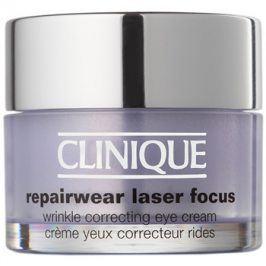 Clinique Repairwear Laser Focus oční protivráskový krém pro všechny typy pleti  15 ml
