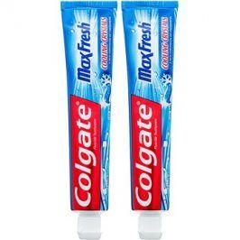 Colgate Max Fresh Cooling Crystals zubní pasta pro svěží dech příchuť Cool Mint 2 x 75 ml