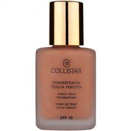 Collistar Foundation Perfect Wear voděodolný tekutý make-up SPF 10 odstín 5 Cappuccino  30 ml