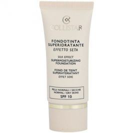 Collistar Foundation Supermoisturizing hydratační make-up SPF 10 odstín 3 Peach 30 ml