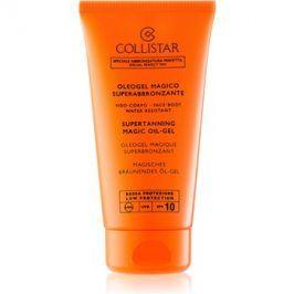 Collistar Sun Protection olejový gel pro rychlejší a déletrvající opálení SPF 10  150 ml