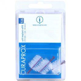 Curaprox Soft Implantat CPS náhradní mezizubní kartáčky na čištění implantátů 3 ks