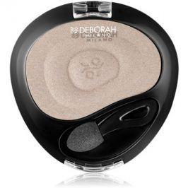 Deborah Milano 24Ore Velvet oční stíny odstín 19 Silver Lapin 5 g