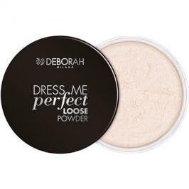 Deborah Milano Dress Me Perfect matující sypký pudr odstín 0 Universal 25 g