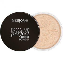 Deborah Milano Dress Me Perfect matující sypký pudr odstín 02 Light Beige 25 g