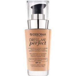 Deborah Milano Dress Me Perfect make-up pro přirozený vzhled SPF15 odstín 02 Beige 30 ml