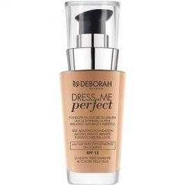 Deborah Milano Dress Me Perfect make-up pro přirozený vzhled SPF15 odstín 03 Sand 30 ml