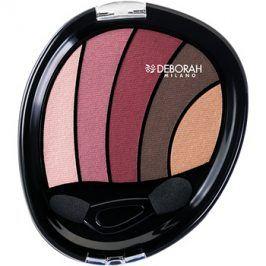 Deborah Milano Perfect Smokey Eye oční stíny s aplikátorem odstín 02 Rose 5 g