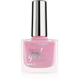Deborah Milano Smalto Gel Effect lak na nehty s gelovým efektem odstín 49 8,5 ml