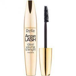 Delia Cosmetics Argan Lash řasenka pro objem, délku a oddělení řas odstín Black 12 ml