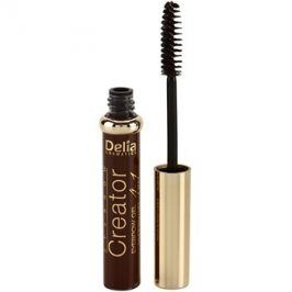 Delia Cosmetics Creator gel na obočí 4 v 1 odstín Brown 7 ml
