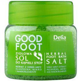 Delia Cosmetics Good Foot bylinná koupelová sůl na nohy  570 g