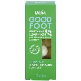 Delia Cosmetics Good Foot šumivé koule do koupele na nohy  54 g