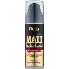 Delia Cosmetics Matt Forever lehký make-up odstín 41 35 ml