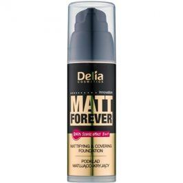 Delia Cosmetics Matt Forever lehký make-up odstín 46 35 ml