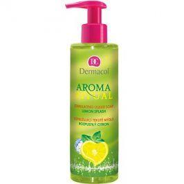 Dermacol Aroma Ritual vzpružující tekuté mýdlo s pumpičkou Lemon Splash 250 ml