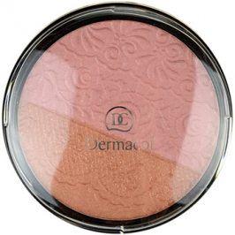 Dermacol Duo Blusher tvářenka odstín 01 8,5 g