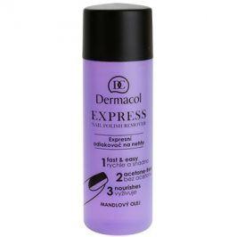 Dermacol Express odlakovač na nehty bez acetonu  120 ml
