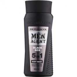 Dermacol Men Agent Black Box sprchový gel  5 v 1  250 ml