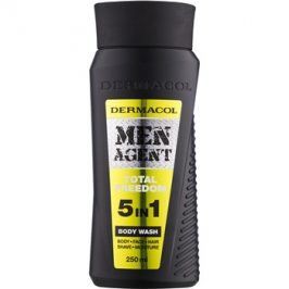 Dermacol Men Agent Total Freedom sprchový gel  5 v 1  250 ml