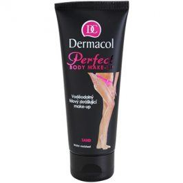 Dermacol Perfect voděodolný tělový zkrášlující make-up odstín Sand 100 ml