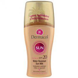 Dermacol Sun Water Resistant voděodolné mléko na opalování SPF 20  200 ml