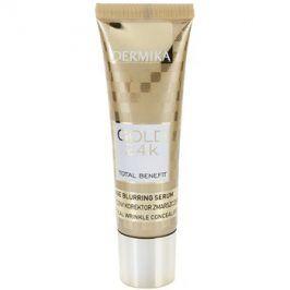 Dermika Gold 24k Total Benefit omlazující sérum proti příznakům stárnutí  30 ml