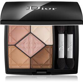 Dior 5 Couleurs paleta očních stínů 5 barev odstín 537 Touch 7 g