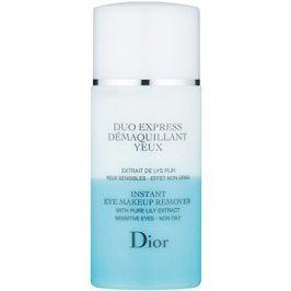 Dior Cleansers & Toners dvousložkový odličovač očí pro citlivou pleť  125 ml