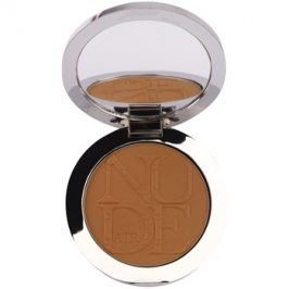 Dior Diorskin Nude Air Tan Powder bronzující pudr se štětečkem odstín 001 Miel Doré/Golden Honey 10 g