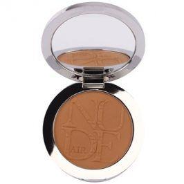 Dior Diorskin Nude Air Tan Powder bronzující pudr se štětečkem odstín 002 Ambre/Amber 10 g
