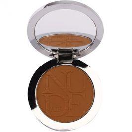 Dior Diorskin Nude Air Tan Powder bronzující pudr se štětečkem odstín 035 Cannelle Matte/Matte Cinnamon 10 g
