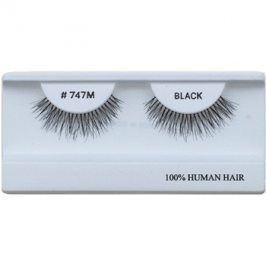 Diva & Nice Cosmetics Accessories nalepovací řasy z přírodních vlasů No 747M