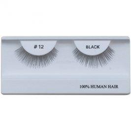 Diva & Nice Cosmetics Accessories nalepovací řasy z přírodních vlasů No. 12