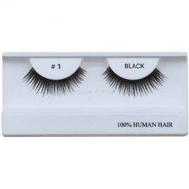 Diva & Nice Cosmetics Accessories nalepovací řasy z přírodních vlasů No. 1
