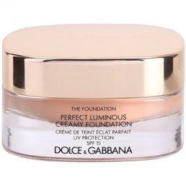 Dolce & Gabbana The Foundation Perfect Luminous Creamy Foundation rozjasňující krémový make-up SPF15 odstín 140 Soft Sand 30 ml