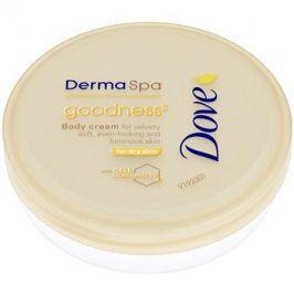 Dove DermaSpa Goodness³ tělový krém pro jemnou a hladkou pokožku  75 ml