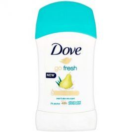 Dove Go Fresh tuhý antiperspitant 48h Pear & Aloe Vera Scent 40 ml