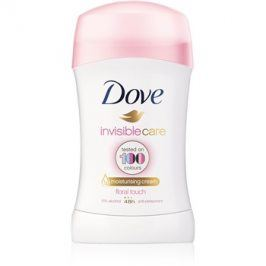 Dove Invisible Care Floral Touch tuhý antiperspirant proti bílým skvrnám bez alkoholu  40 ml