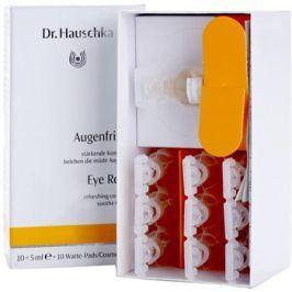 Dr. Hauschka Eye And Lip Care osvěžující obklady pro unavené oči  10 x 5 ml