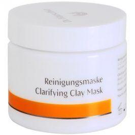 Dr. Hauschka Facial Care čisticí a rozjasňující pleťová maska z jílu  90 g