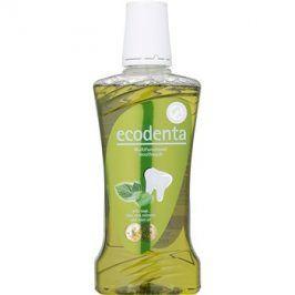Ecodenta Sage & Aloe Vera & Mint Oil ústní voda pro svěží dech a ochranu dásní  480 ml