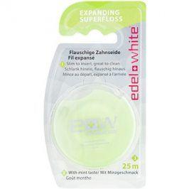 Edel+White Expanding Superfloss dentální nit příchuť Mint 25 m
